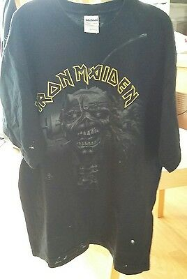 Iron Maiden Can I Play With Madness Rare Shirt