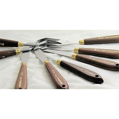Artists painting wooden handle quality Palette knife oil acrylic paint knives
