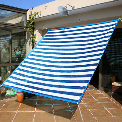 New Sun Shade Sail Home Balcony Plant Canopy Garden Yard Patio Awning Mesh Cover
