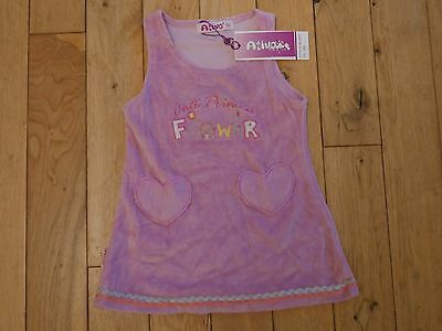 Dress Baby Girl  Pinafore Age 9 Months 74 Cms Ativo Pink
