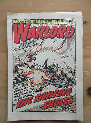 WARLORD and BULLET COMIC No.226 20 JANUARY 1979 MEN AT WAR GENERAL J P LECLERC