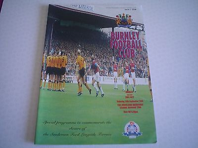Burnley   V  Hull     95/96 ( Longside )