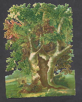 S5027 Victorian Die Cut Scraps: Large Tree