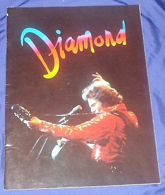 RP807 Vtg Neil Diamond Concert Program