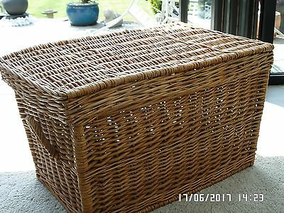 Wicker Basket great for toys and linen