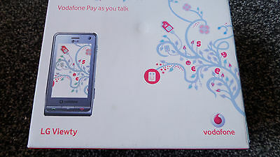LG Viewty Mobile Phone Vodafone Pay as you talk Boxed retro