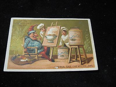 1800's Liebig Company's Extract of Meat Victorian Trade Card