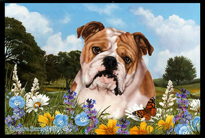 Indoor/Outdoor Summer Floor Mat - English Bulldog (TB) 39025