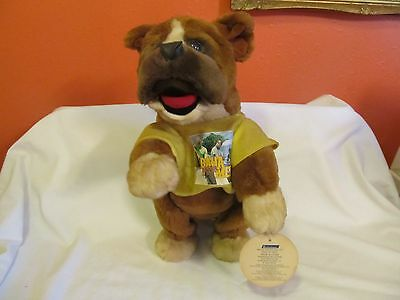 Who Let the Dogs Out Baha Men Bulldog Plush Walks Sings 2001 Pacific Innovations
