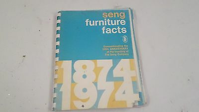 Vintage 24th Edition 100 Anniversary The Seng Co Seng Furniture Facts Book
