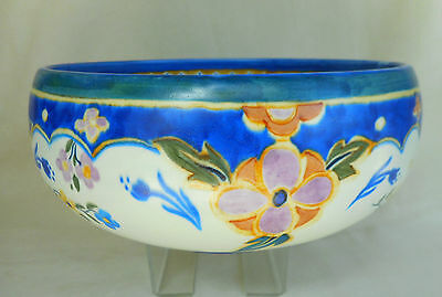 Carlton Ware Art Deco Handcraft Bowl ~ Circa 1928 - Lovely Display Item Look !