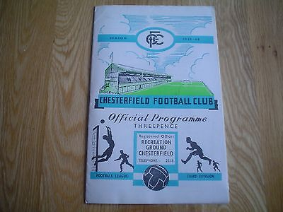 Chesterfield  V   Southampton         59/60