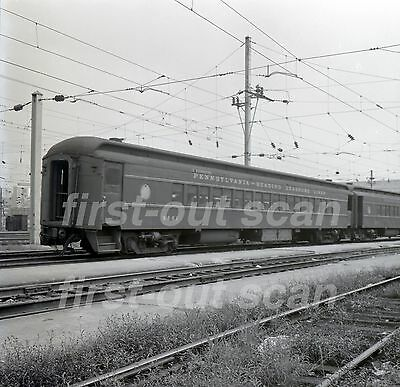 Original B&W Negative - Pennsylvania Reading Seashore Lines PRSL 9881 Phila 1967
