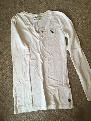 Girls Long Sleeved T Shirt - Abercrombie & FItch BNWT Size 15/16