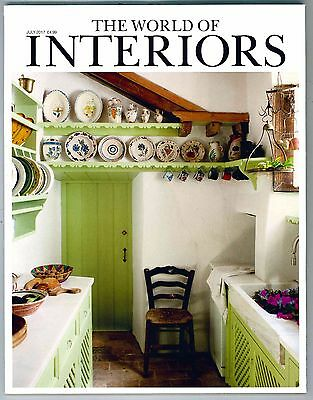 World Of Interiors Magazine July  2017 Limited Edition Collectors Cover New