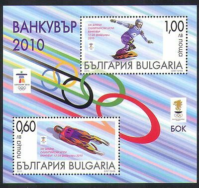 Bulgaria 2010 Winter Olympics/Sports/Olympic Games/Snowboard/Luge 2v m/s n36821