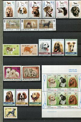 CATS & DOGS MNH + Used COLLECTION 100+ Items