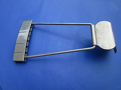 Vintage '30s-'40s USA Archtop Guitar CAST STRING BLOCK TAILPIECE !! NICE!