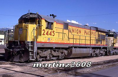 Orig. Slide Union Pacific 2445 Roster