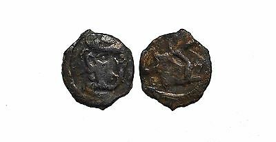 9190 Chach AE coin, Unknown ruler.