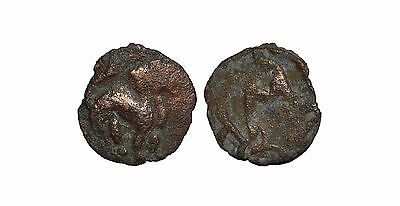 9185 Chach AE coin, Unknown ruler.