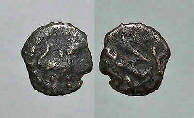 8493 Chach AE coin, Unknown ruler.
