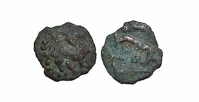 9156 Chach AE coin, Unknown ruler.