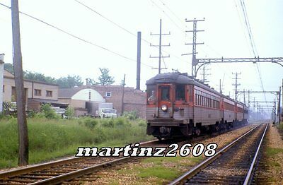 Orig. Traction/trolley Slide Chicago North Shore & Milwaukee 409