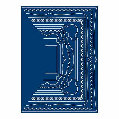 Tatterd Lace Card Shapes Rectangles Dies