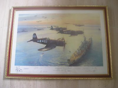 VICTORY FLYOVER (JAPANESE SURRENDER) LTD PRINT (26/850) by ROBERT TAYLOR (1995)