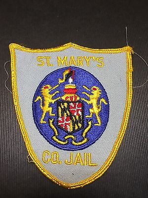 .st Mary's County Maryland Jail  Shoulder  Patch