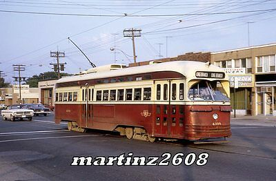 Orig. Traction/trolley Slide Ttc (Toronto) 4398
