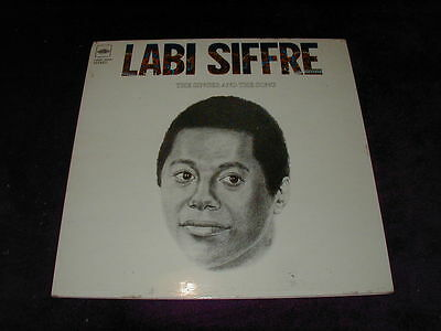 Labi Siffre, The Singer And The Song ,vinyl Lp