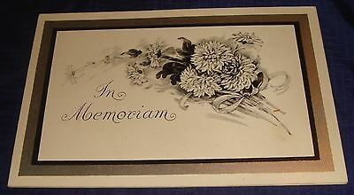 MH175 Vtg In Memoriam Card Robert McGahey Emily Township Lindsay ON