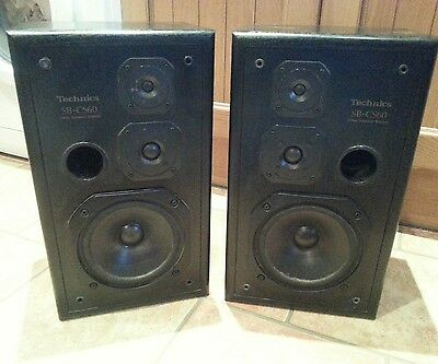 Technics sb-cs60 3 way main speakers