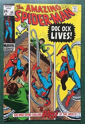 The Amazing Spider-Man #89 Marvel Comics 1970 FN+