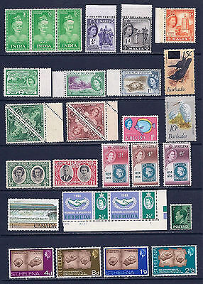British Commenwealth Collection Un Mounted Mint