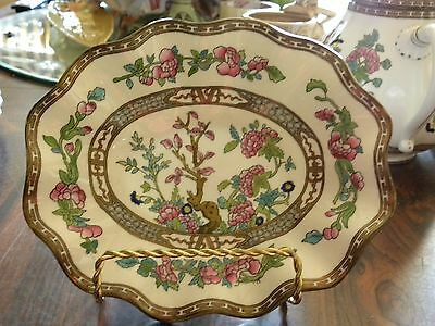 VINTAGE COALPORT OVAL CANDY DISH/Indian Tree