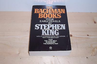The Bachman Books, By Stephen King, Ominubus ! 4 Books in 1 Volume !