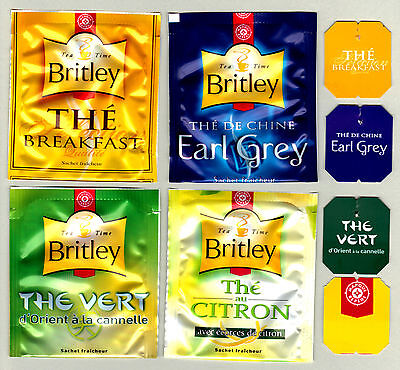 Britley France Teabag Envelopes And Tags Collection 293