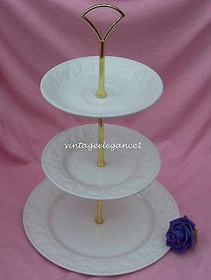 Bhs / Barratts - Lincoln  - 2 Or 3 Tier Cake Stand