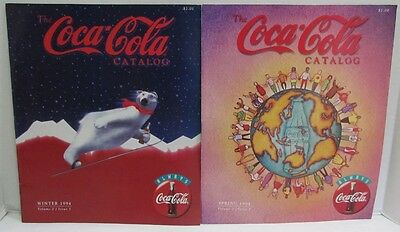 Coca-Cola Collectibles Catalogs from Coke Spring & Winter 1994