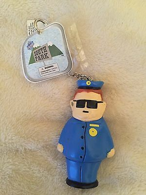 Officer Barbrady South Park Keyring New With Tags