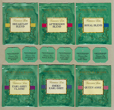 Fortnum & Mason Gb Teabag Envelopes And Tags Collection 458