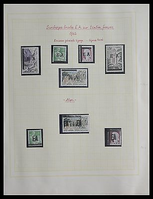 Lot 27294 Collection stamps of Algeria 1962 EA overprints.