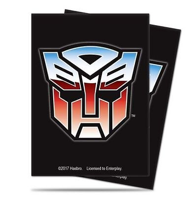 Ultra Pro Gaming Sleeves Deck Protector Transformers Autobots 65 Count Pack