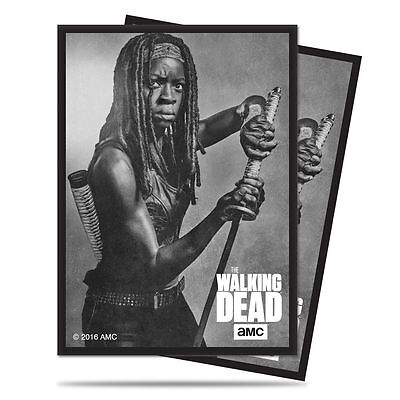 Ultra Pro Gaming Sleeves Deck Protector The Walking Dead Michonne 50 Count Pack