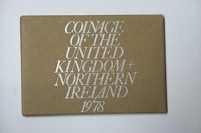 1978 COINAGE OF GREAT BRITAIN AND NORTHERN IRELAND 6 COIN PROOF SET #5254 med