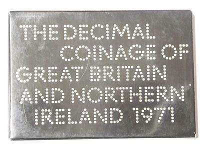 1971   COINAGE OF GREAT BRITAIN AND NORTHERN IRELAND 6 COIN PROOF SET #2327 med