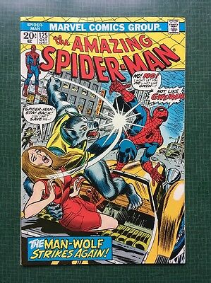 The Amazing Spider-Man #125 Marvel Comics 1973 FN/VF
